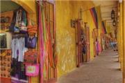 Stil Cartagena - Kolumbien